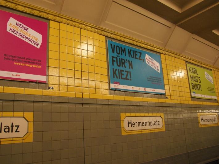 Kampagnenplakat am Hermannplatz (c) CM