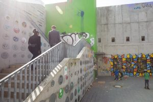 Gestaltung der Kindl-Treppe
